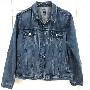 Gap Icon Saddle Jean Jacket
